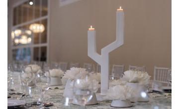 Sebastian suite nos presenta un candelabro de cerámica de lujo