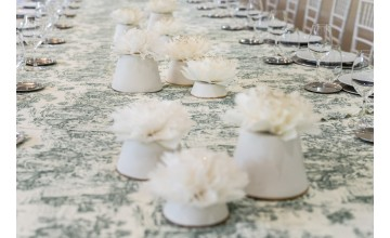 Adorno de mesa hecho a mano para vestir tu mesa de forma elegante