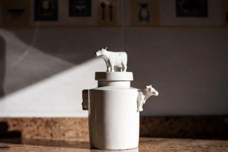 Tibor de porcelana hecho a mano especialmente para tu hotel boutique