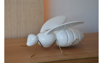 SS000182-Abelha Branca
